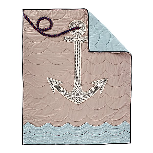 High Seas Baby Quilt
