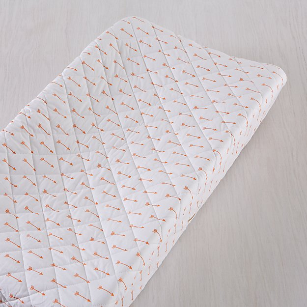 Iconic Orange Arrow Changing Pad Cover