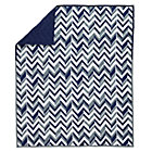 Blue Little Prints Zig Zag Baby Quilt
