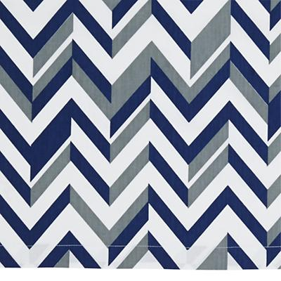 Little Prints Crib Skirt (Blue)