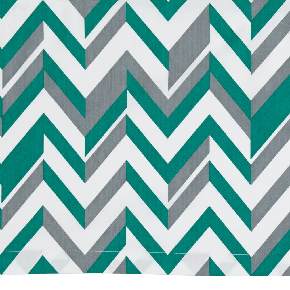 Little Prints Crib Skirt (Green)