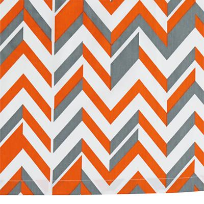 Little Prints Crib Skirt (Orange)