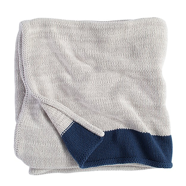 Underline Blanket (Blue)