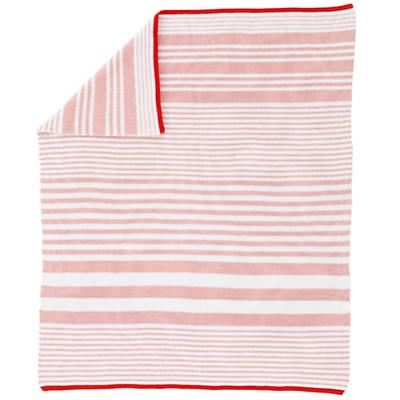 In the Mix Crib Blanket (Pink)
