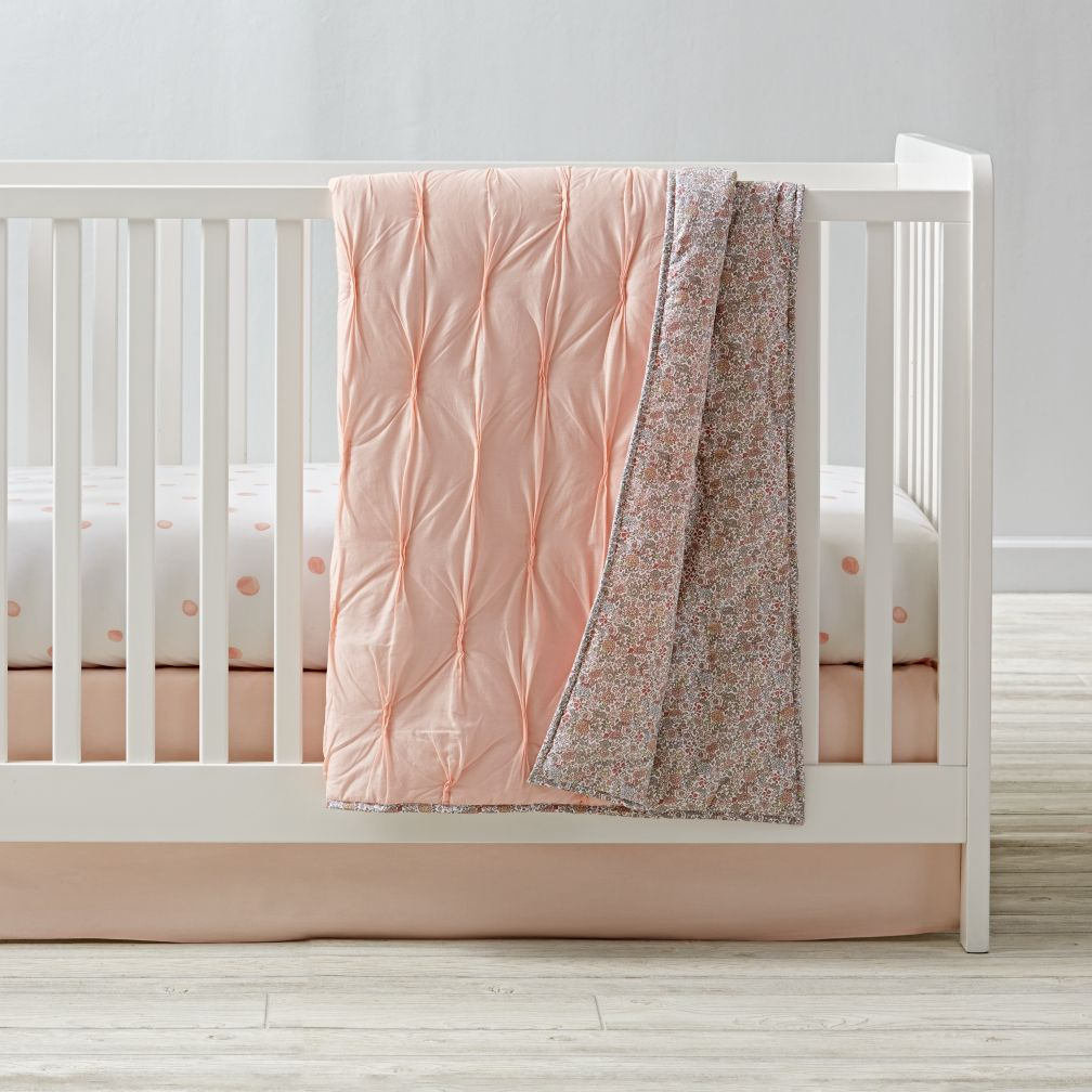 Modern Chic Crib Bedding (Pink)