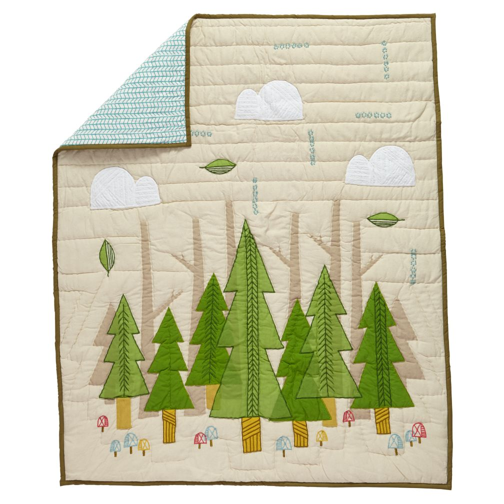 Nature Trail Baby Quilt The Land Of Nod