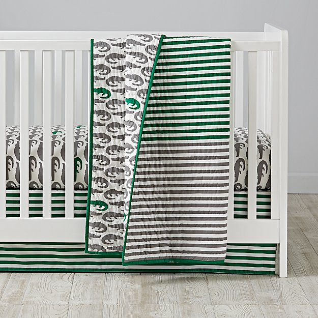 Later Gator Crib Bedding