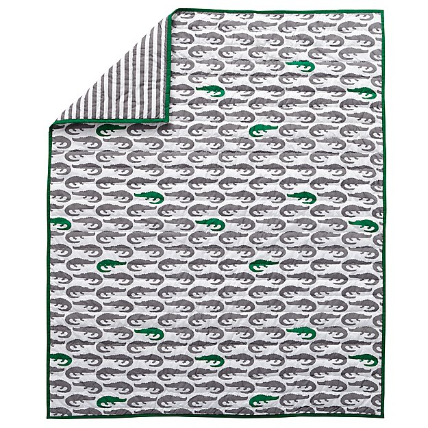 Later Gator Baby Quilt