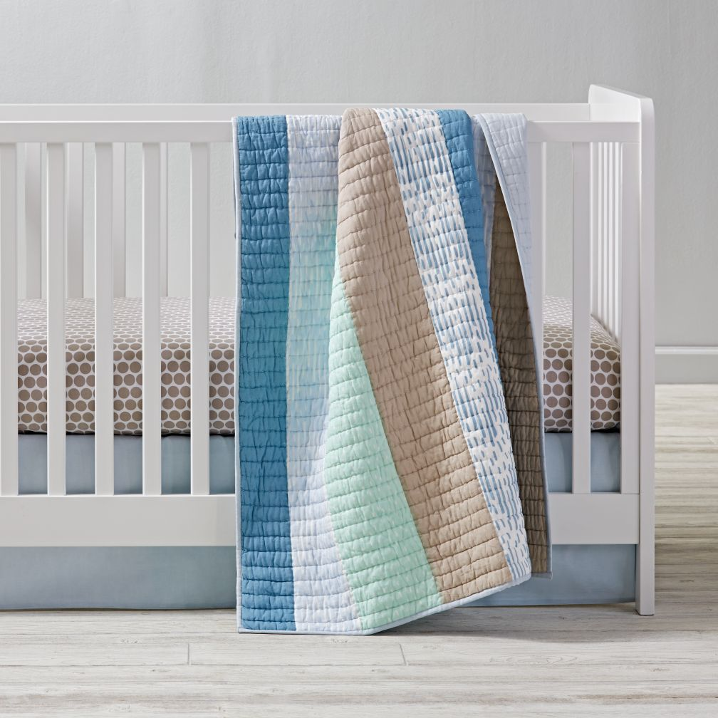 Pattern Play Crib Bedding