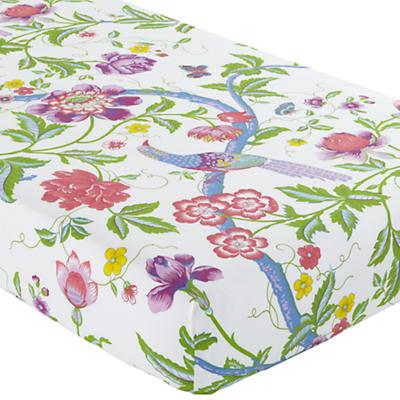 Crib Fitted Sheet (Rainforest Print)