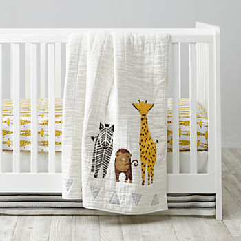 Savanna Giraffe Crib Bedding (3-Piece Set)