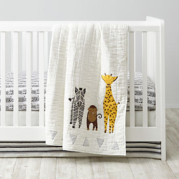 Savanna Zebra Crib Bedding (3-Piece Set)