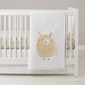 Sheepish Crib Bedding (3-Piece Set)