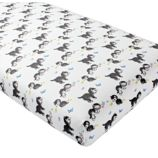 Organic Shy Little Kitten Crib Fitted Sheet
