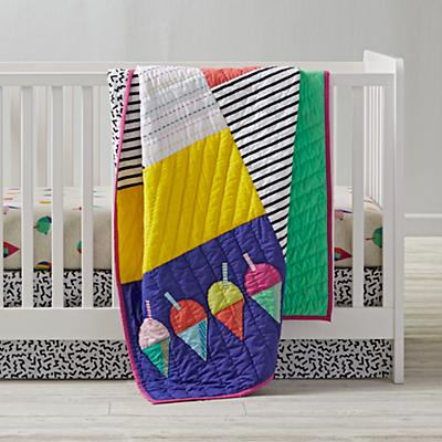 Snow Cone Crib Bedding