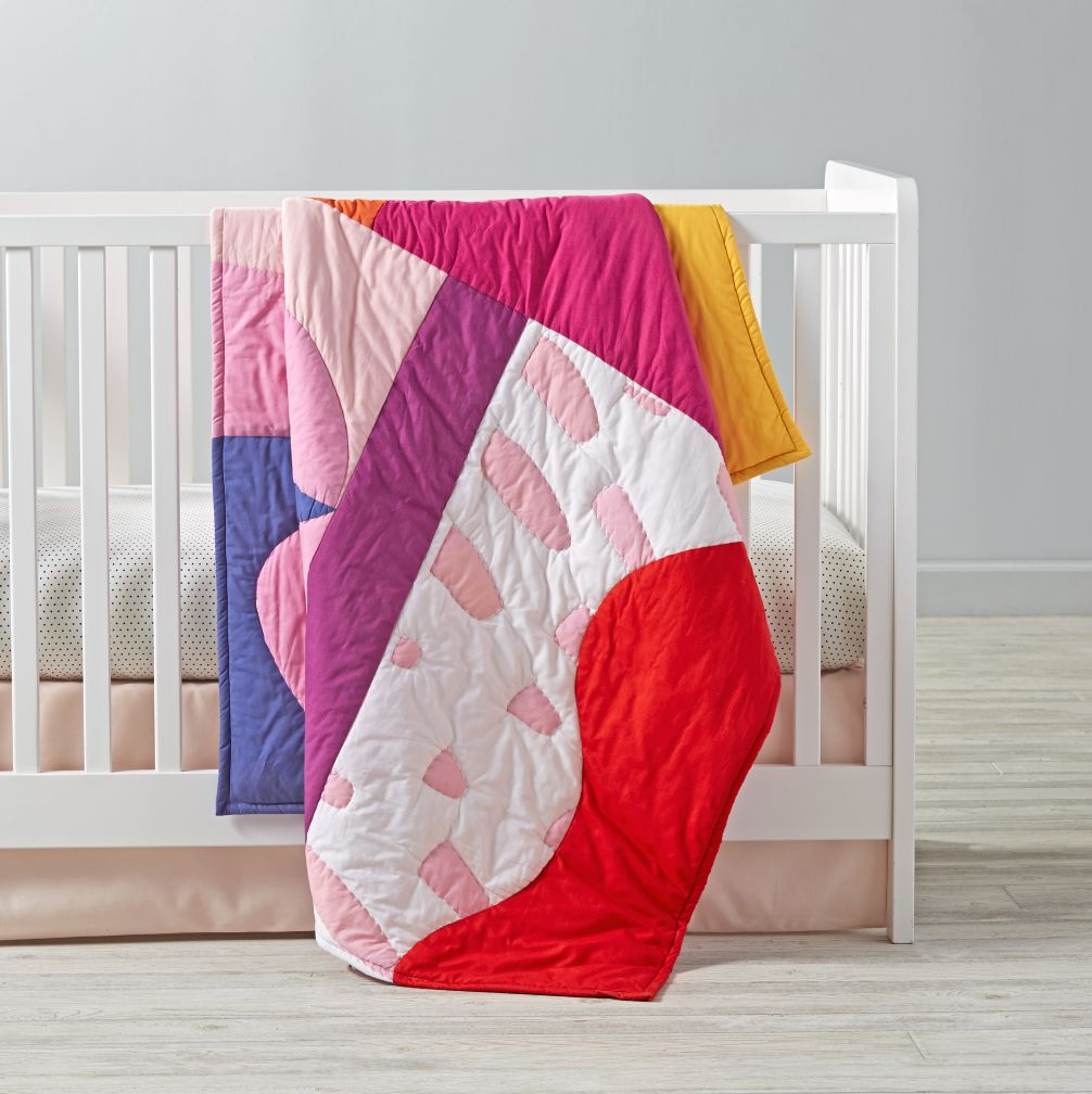Tropical Punch Baby Quilt