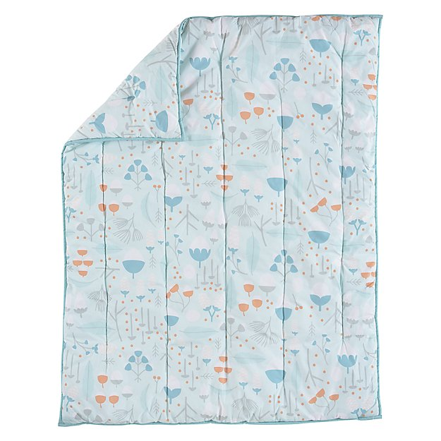 Well Nested Baby Quilt (Blue)