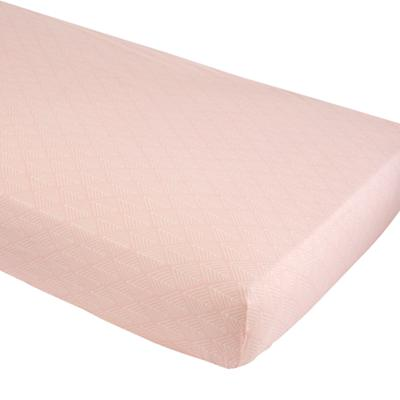 Organic Well Nested Pink Branch Crib Fitted Sheet