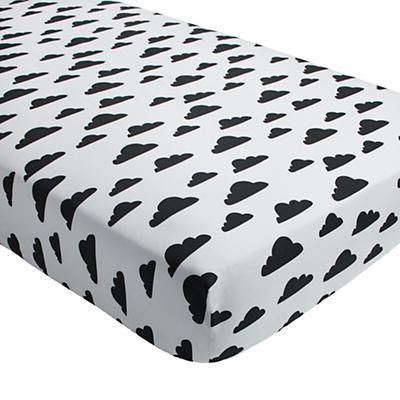 Organic Cloud Crib Fitted Sheet