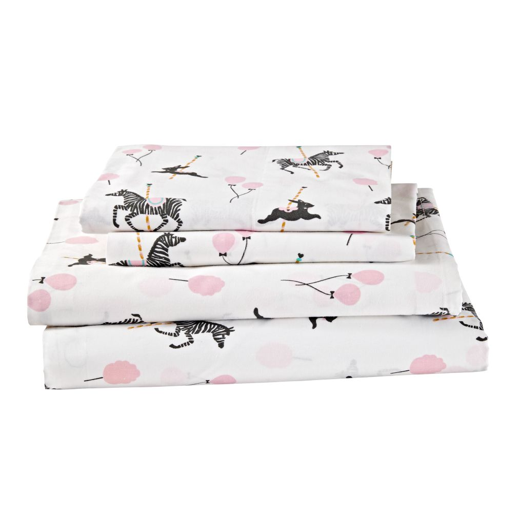 Organic Carousel Full Sheet Set
