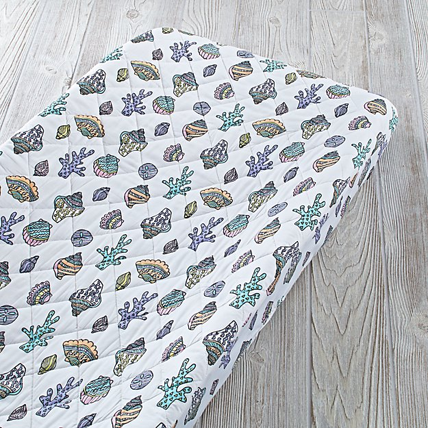 New Wave Nautical Changing Pad Cover