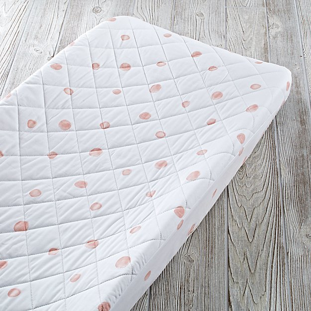 Washed Dot Changing Pad Cover