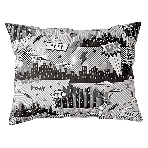 Comic Book Pillowcase