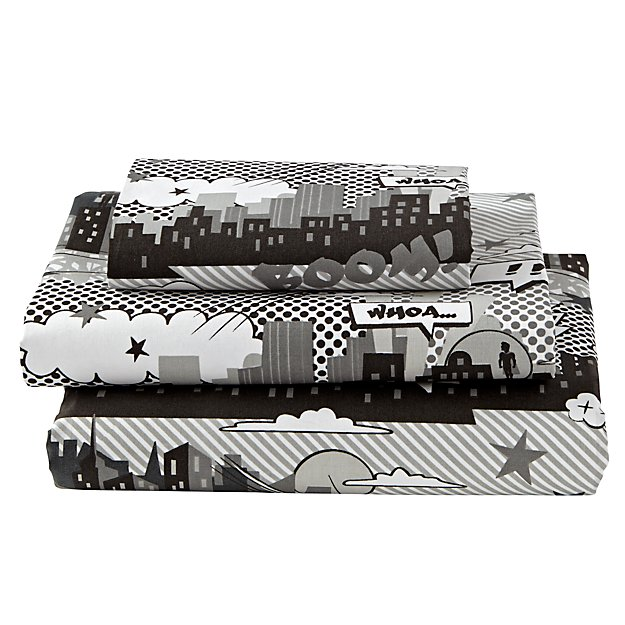 Twin Comic Book Sheet Set