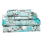 Full Creature Comfort Sheet SetIncludes fitted sheet, flat sheet and two pillowcases