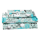 Twin Creature Comfort Sheet SetIncludes fitted sheet, flat sheet and one pillowcase