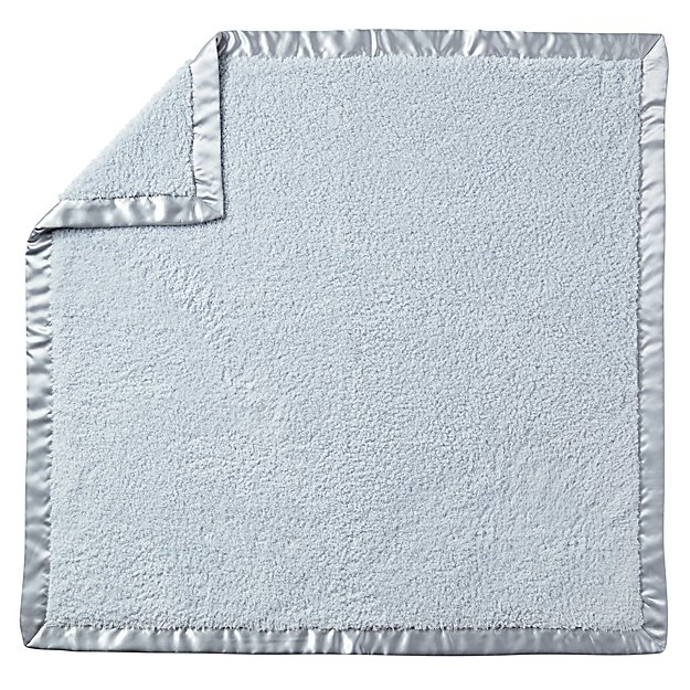 Cuddle Me Softly Baby Blanket (Blue)