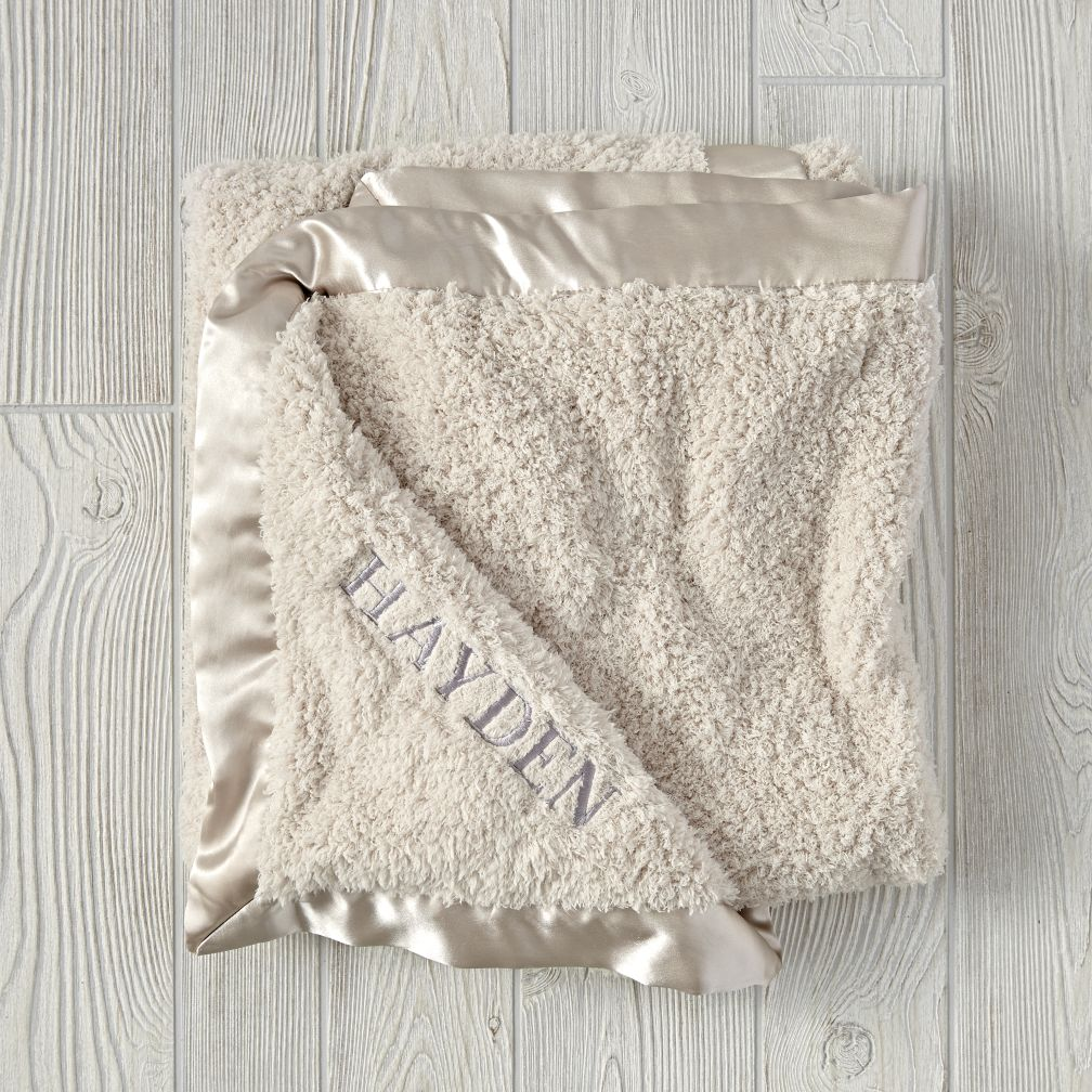 Cuddle Me Softly Baby Blanket (Stone)