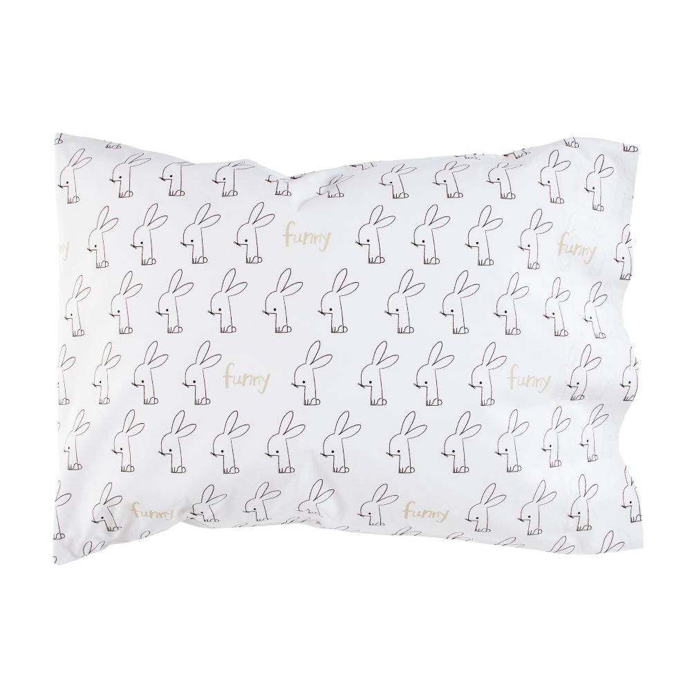 Early Edition Pillowcase (Bunny)