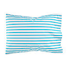 Blue Stripe Early Edition Pillowcase.