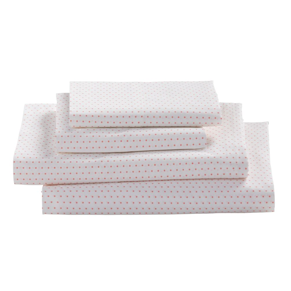 Early Edition Sheet Set (Pink Dot)
