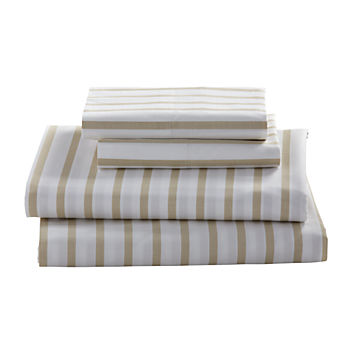Full Early Edition Sheet Set (Khaki Stripe)