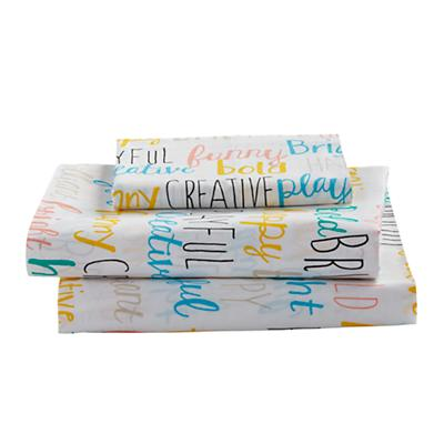 Twin Early Edition Sheet Set (Word)
