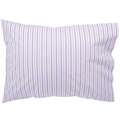 Breezy Stripe Lavender Pillowcase