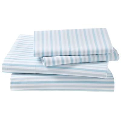 Breezy Stripe Blue Sheet Set (Twin)