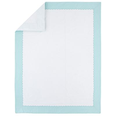 Extended Stay Teal Duvet Cover (Twin)