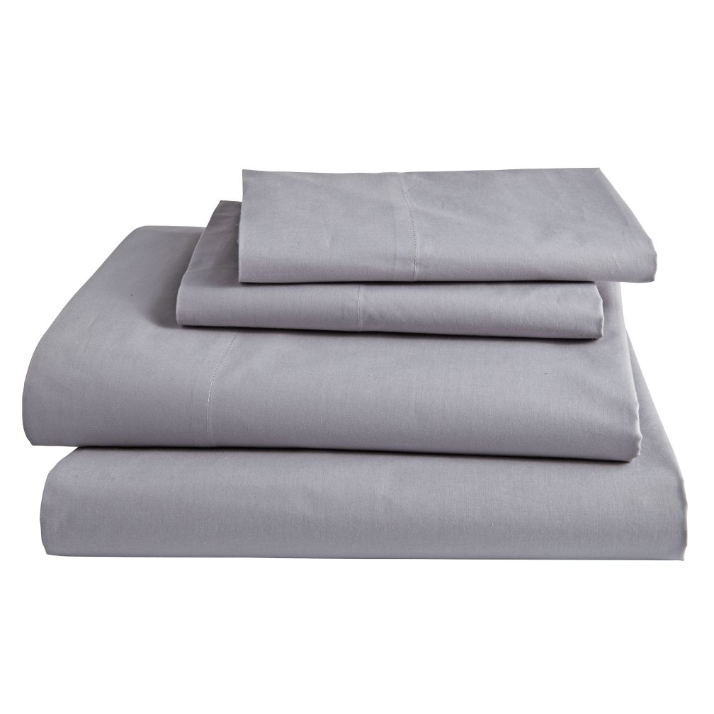 Simply Grey Sheet Set (Full)