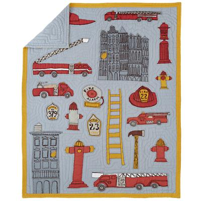 Fire Cadet Quilt (Full-Queen)