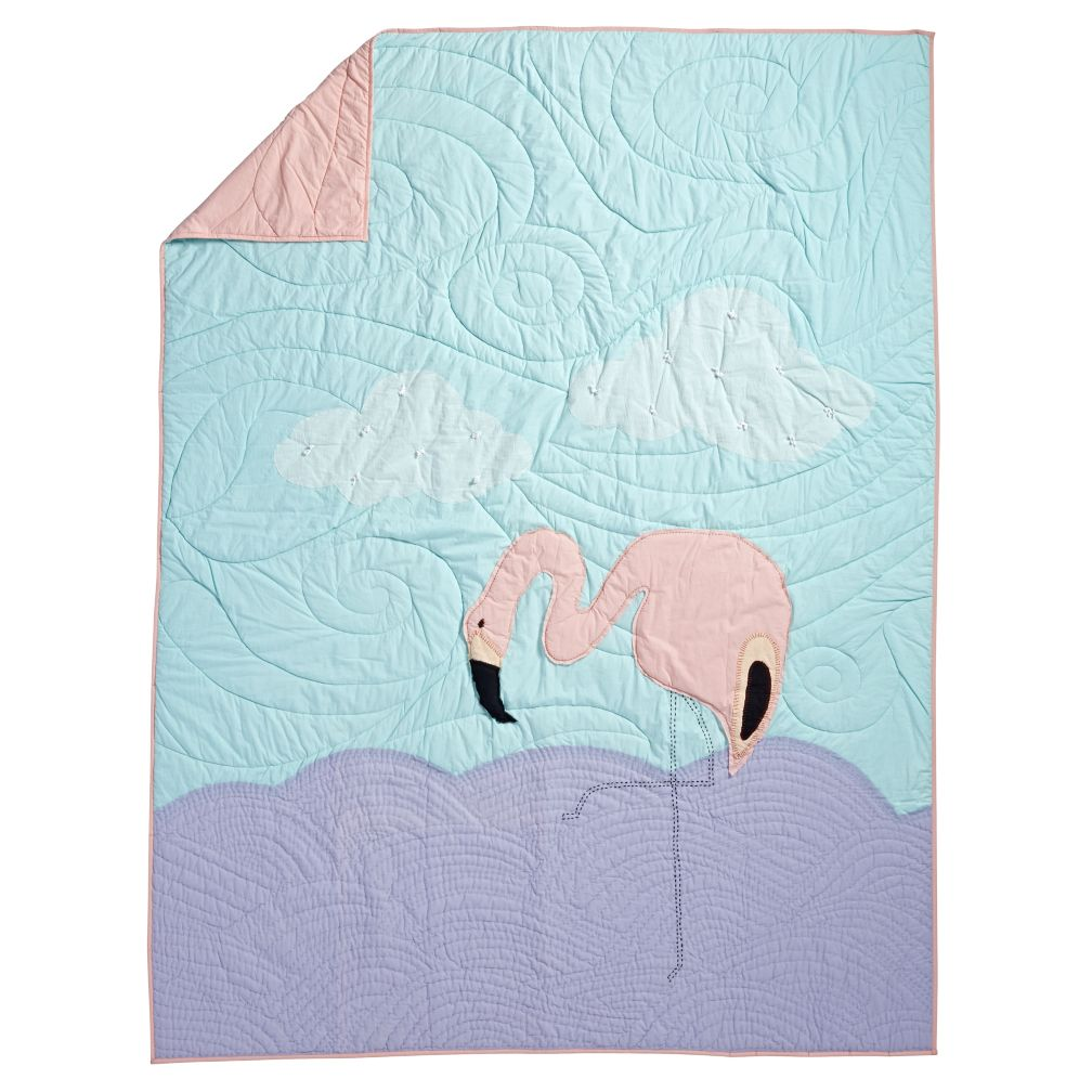 Flamingo Quilt (Twin)