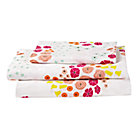Organic Flower Show Twin Sheet Set
