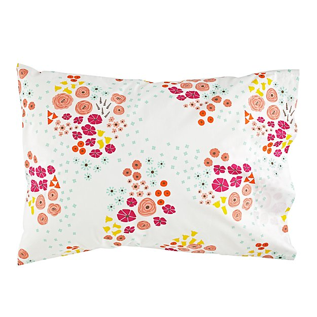 Organic Flower Show Pillowcase