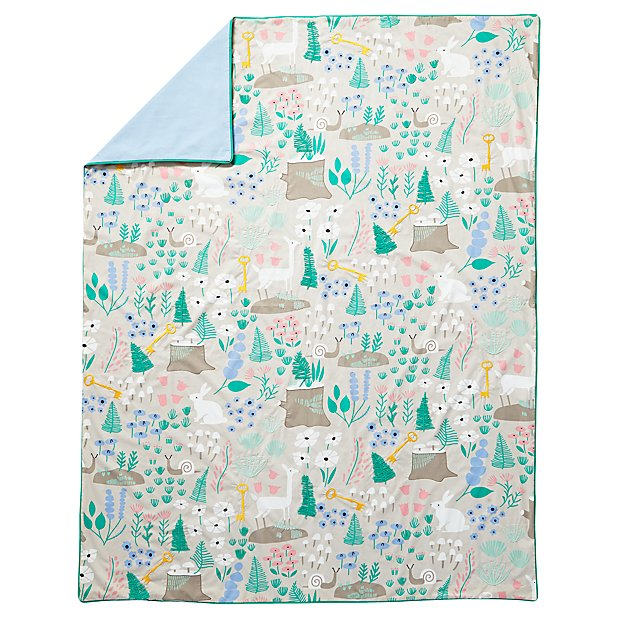 Full-Queen Folktale Forest Duvet Cover