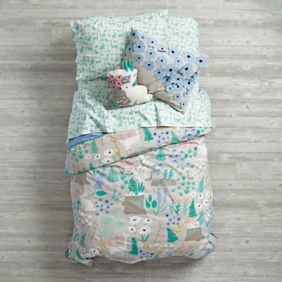 Folktale Forest Bedding
