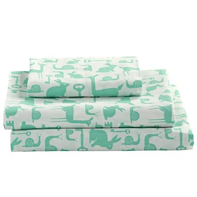 Twin Folktale Forest Sheet Set