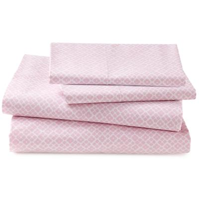 Pink Diamonds Sheet Set (Queen)