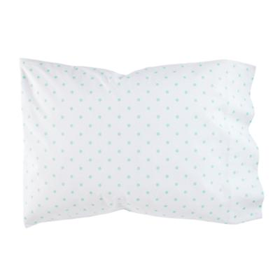 Go Lightly Pillowcase (Mint Dot)